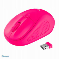 MOUSE MOUSE TRUST PRIMO WIRELESS 1600 PPP ROSA