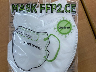 MASQUE FFP2 CE MADE IN ITALY MASQUES